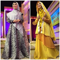Baju Gamis Syar'i Oki Setiana Dewi