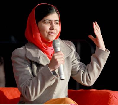 Malala Yousafzai receives Ellis Island International Medal of Honor