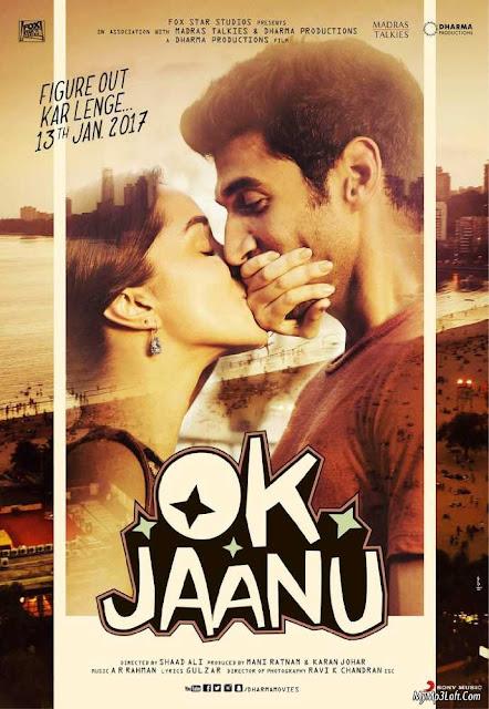 OK Jaanu 2017 Hindi 190MB DVDRip ESubs HEVC X265