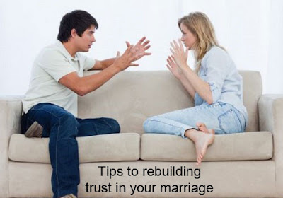 Rebuilding trust in marriage