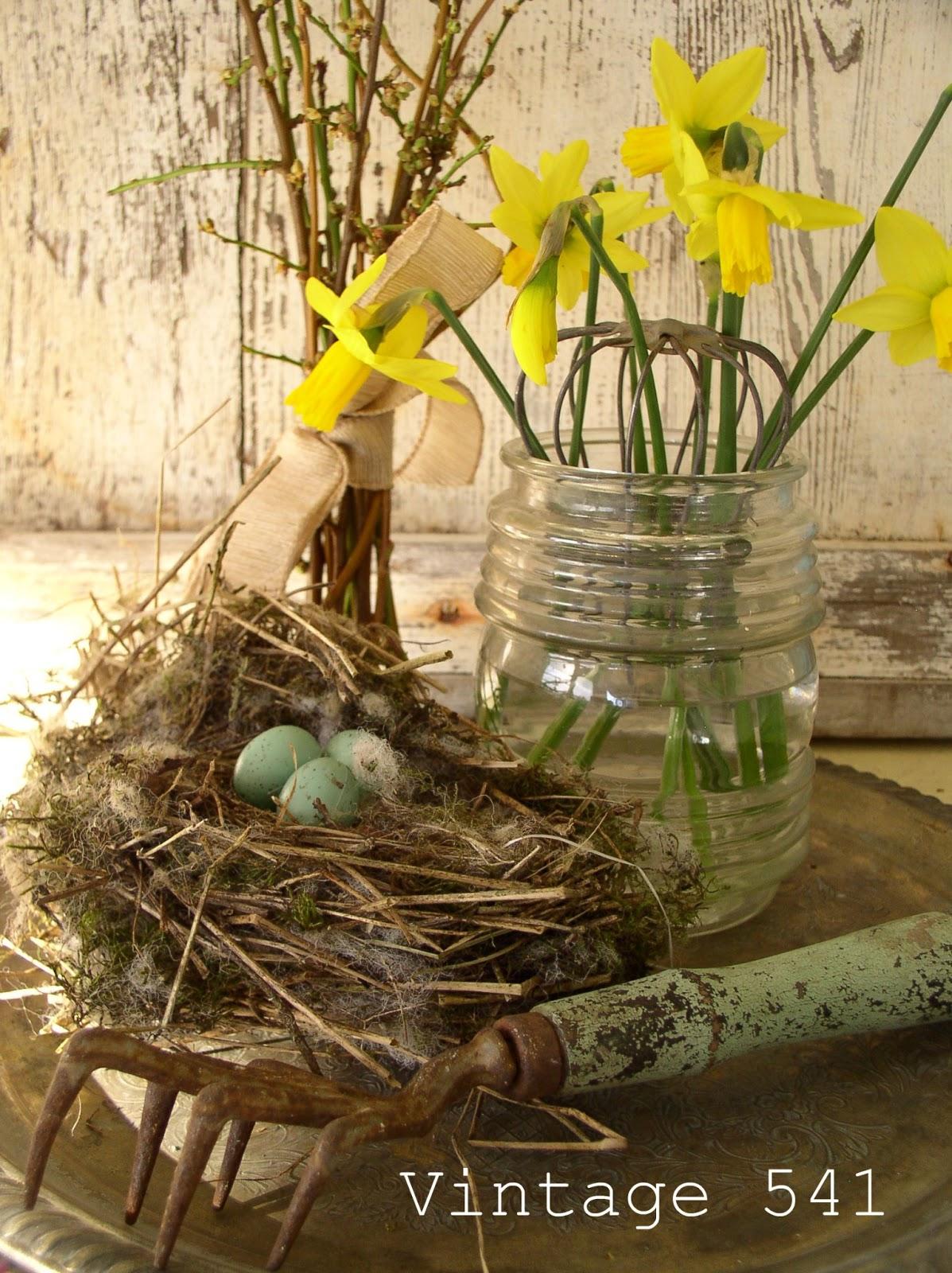 Vintage 541 Spring Vignettes