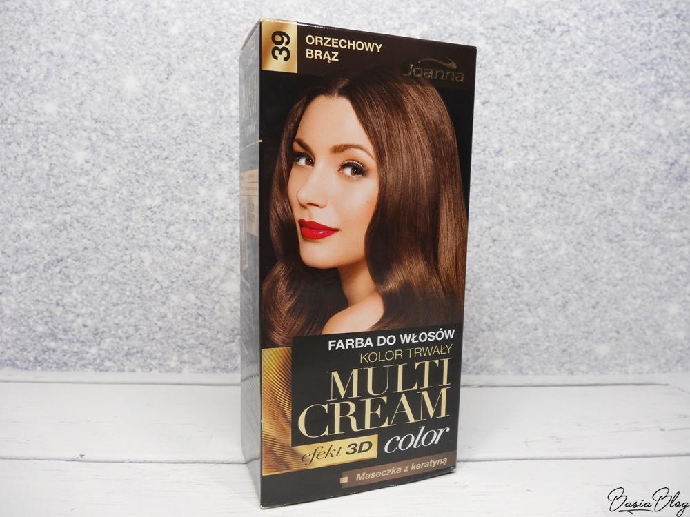 Joanna Multi Cream Orzechowy brąz farba do włosów
