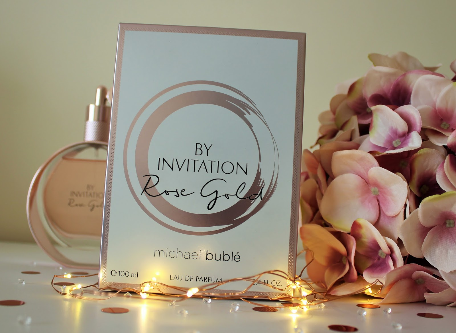 Michael Buble By Invitation Rose Gold Perfume Review - 2