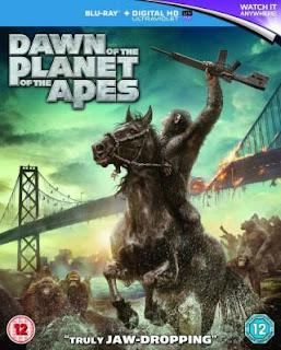 Dawn of the Planet of the Apes (2014) BluRay 720p 1.4GB Dual Audio ( Hindi - English ) MKV