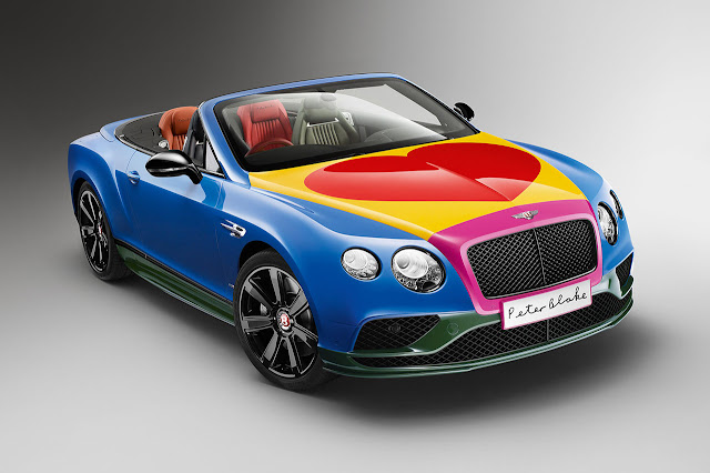Sir Peter Blake Pop Art Bentley set to raise thousands for Charity