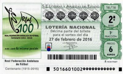 loteria 27 febrero 2016