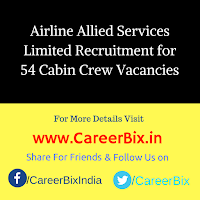 Airline Allied Services Limited Recruitment for 54 Cabin Crew Vacancies