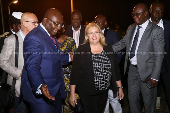 Malta President Coleiro Preca arrives in Accra for 3-day visit