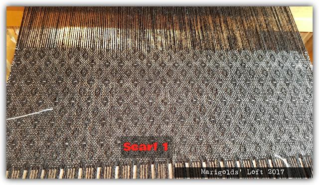 silk/merino scarf