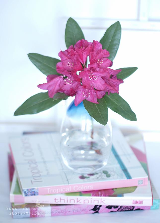 Ynas Design Bog, Blumen, Deko