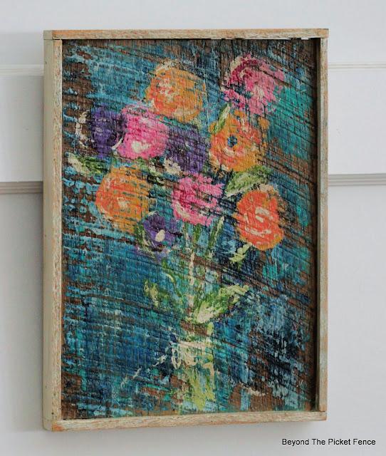 Rustic Spring Flowers