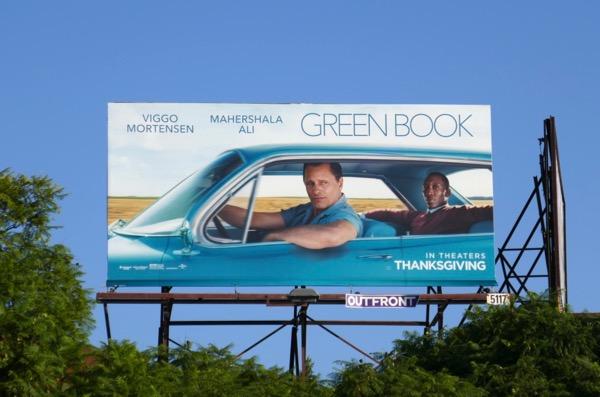 Green Book billboard