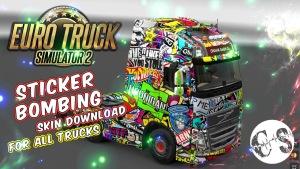 StikerBomb skin pack 4 all trucks