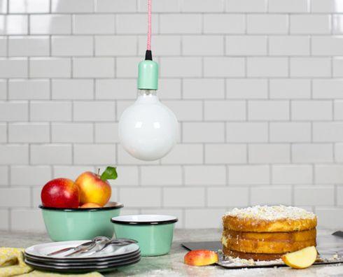 Bombillas para decorar tu cocina