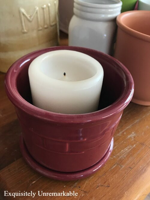 Upcycling An Old Candle Holder