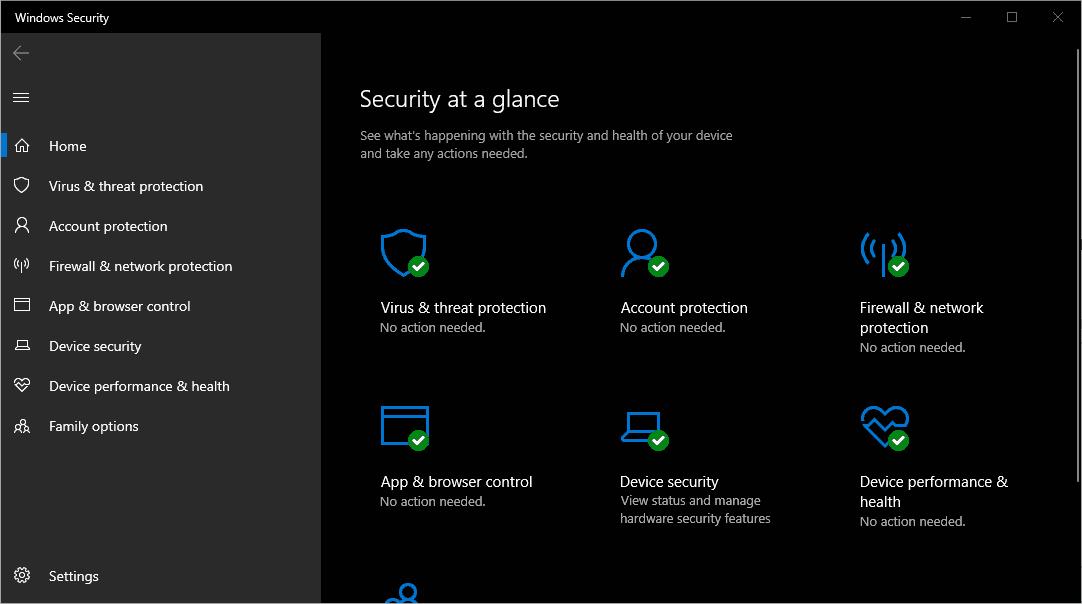 Pasang/Gunakan Antivirus seperti Windows Defender