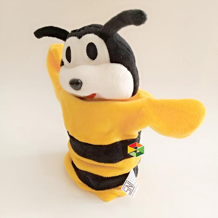 Boneka Tangan Lebah