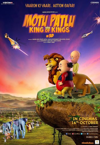 Motu Patlu King of Kings 2016 Hindi pDVDRip x264 700MB