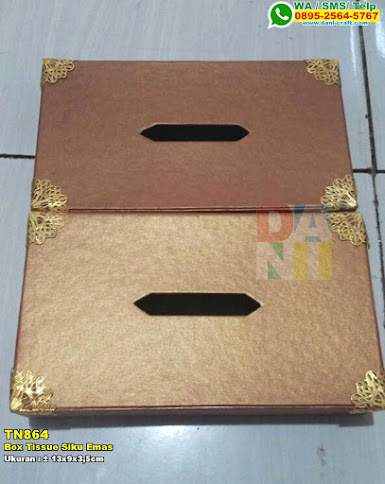 Box Tissue Siku Emas