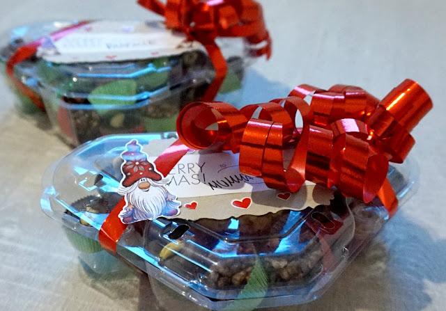 joulupaketti, kierrätys