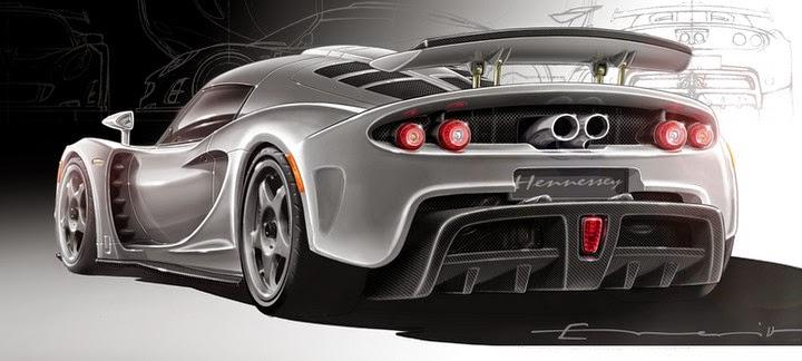 Gambar Mobil Termahal Di Dunia - Hennessey Venom GT