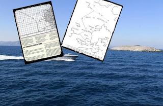 Ντοκουμέντο: Πώς χάσαμε τα Ίμια - Δείτε τους χάρτες του 1932