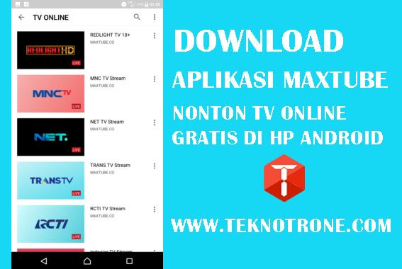 Download Aplikasi Maxtube APK