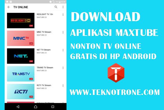 Download Aplikasi Maxtube APK, Aplikasi Nonton Online Terbaru 2019