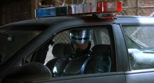 "Ford Patents RoboCop ""like"" Police Cars"