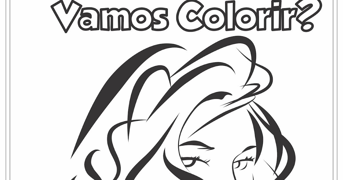 Dia Internacional Da Mulher Desenho Para Colorir