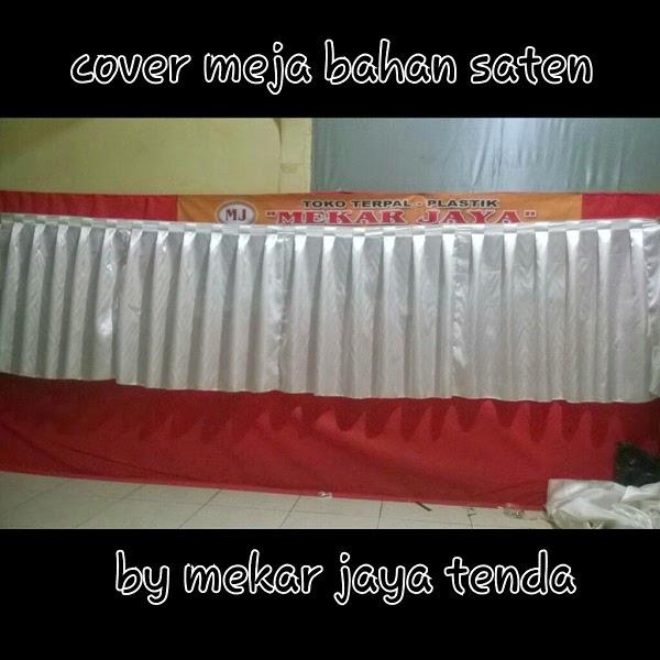 Cover Meja Bahan Satin