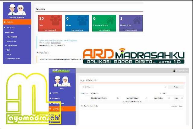 Edaran Wacana Aplikasi Rapor Digital (Ard) Madrasah