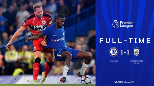 Chelsea vs Huddersfield Town 1-1 Highlights