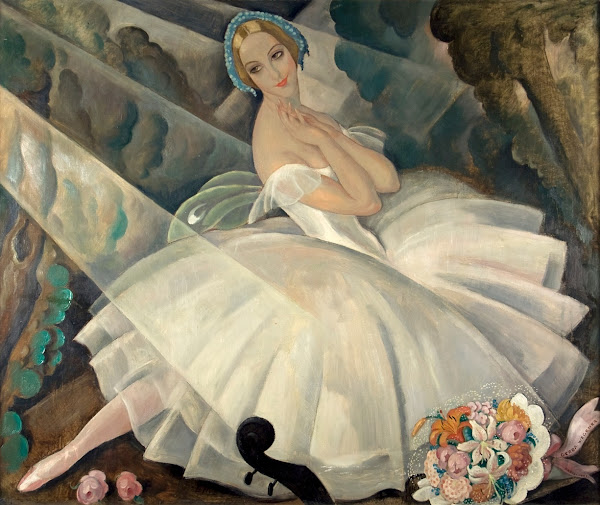 Ulla Poulsen in the ballet Chopiniana by Gerda Wegener in 1927.