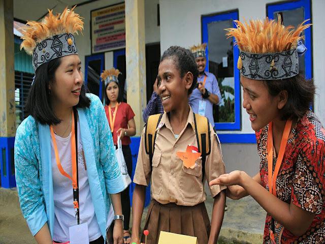 Kelas Inspirasi Kaimana 2 : Melukis Mimpi di SD YPK Wermenu Papua
