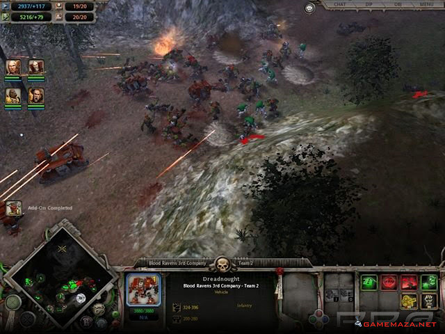 Warhammer 40000 Dawn of War Gameplay Screenshot 3