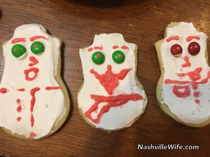 Decorating Christmas Cookies - Nashville Wife