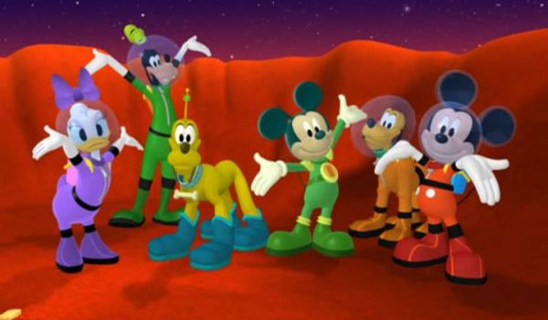 MICKEY MOUSE: Glad we could help you out, Martian Mickey