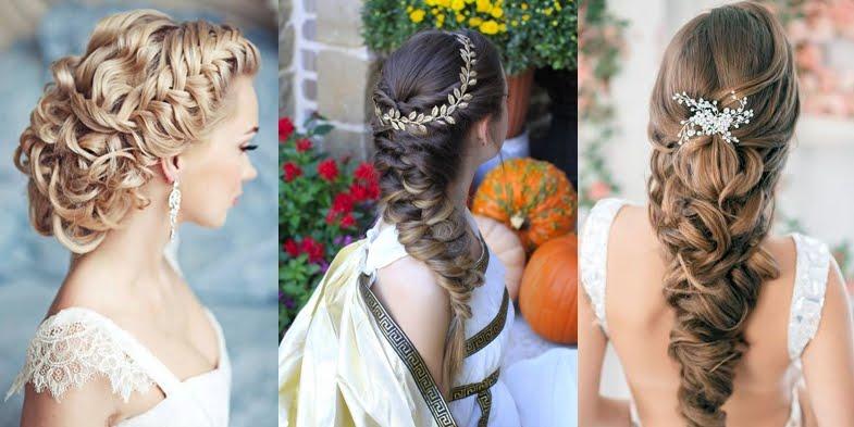 wedding hair inspired by ancient greek goddesses