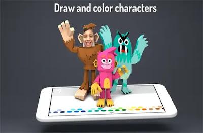 تطبيق-انشاء-رسوم-متحركة-وتحريكها-للاطفال-Toontastic-3D