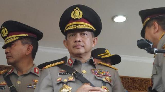 Kapolri Jenderal Tito Karnavian: ada Informasi Teror Bom pada Demo 4 November