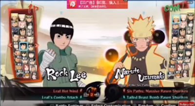 Download Naruto Senki Mod Ninja Storm 4 Android Versi Terbaru