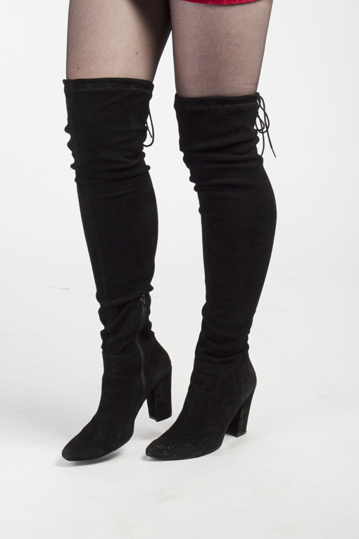 Ted & Muffy over the knee boots