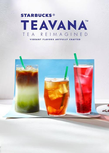 Starbucks Launches Teavana Handcrafted Beverages and Full Leaf Tea Sachets