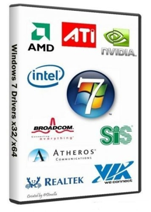 Windows 7 Drivers x32 x64 DVD 2011 Descargar
