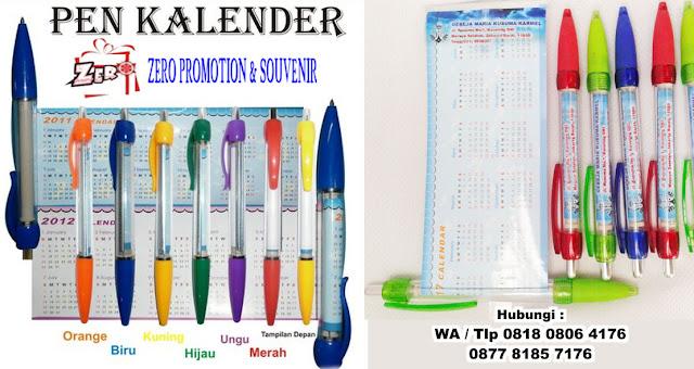 Pen Kalender Untuk Souvenir Natal Dan Tahun Baru