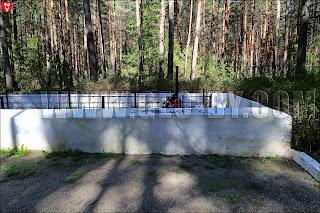 Братская могила евреев у Ивенца