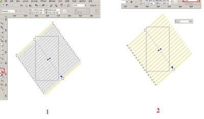 Cara Membuat Banner dengan CorelDRAW X4 , clend tool di corel, cara menggunakan blend tool