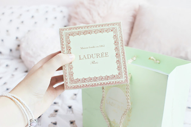 Laduree and Lush shopping haul