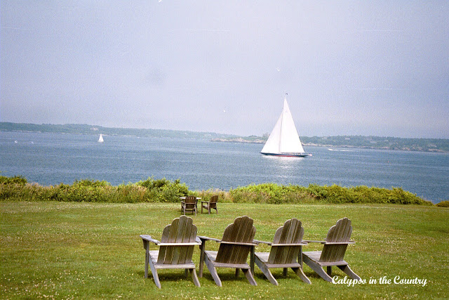 Adirondack Chairs at Castle Hill in Newport Rhode Island